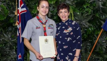 Queens Scout Award Ceremony