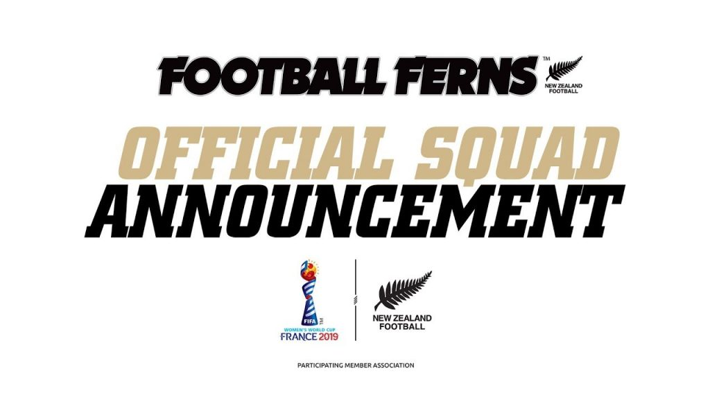 NZF - Official Squad Announcement